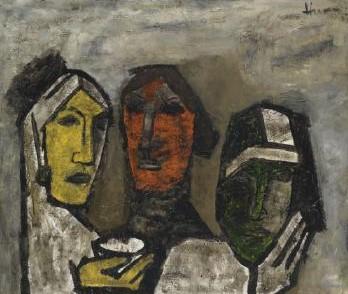 Maqbool Fida Husain-Untitled-1957