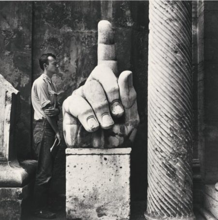 Robert Rauschenberg - Cy, Twombly + Relics, Rome, #5-1952