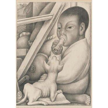 Diego Rivera-Boy and Dog-1932
