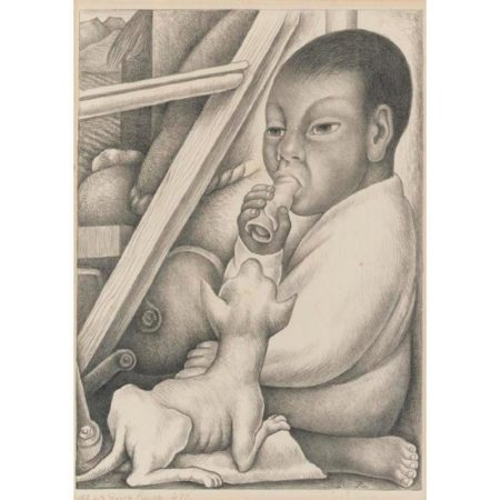 Diego Rivera-Boy and Dog-1932