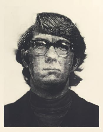Chuck Close-Keith / Mezzotint-1972