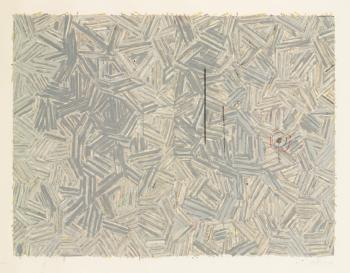 Jasper Johns-The Dutch Wives (Ulae 187)-1977