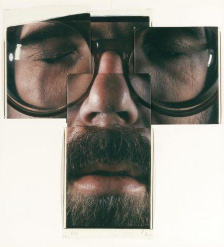 Chuck Close-5 C (Self Portrait)-1979