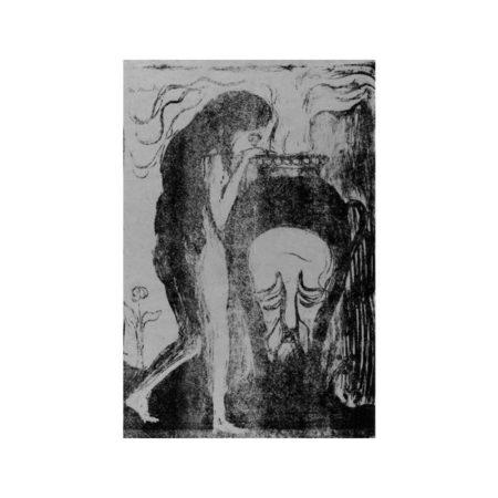 Edvard Munch-The Woman at the Urn / Das Weib an der Urne-1898
