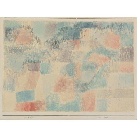 Paul Klee-Rote Erde (Red Earth)-1926