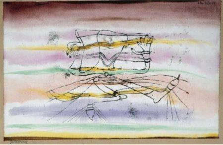 Paul Klee-Schleiertanz (Veil Dance)-1920