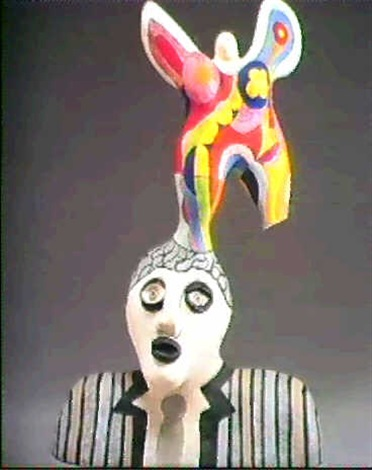 Niki de Saint Phalle-Poet and Muse-1979