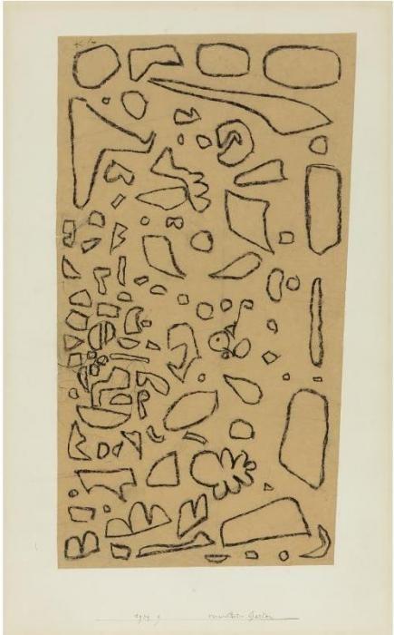 Paul Klee-Verwilderter Garten (Neglected Garden)-1939