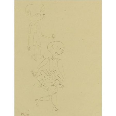 Paul Klee-Mich Verfolgt Wer (Somebody Pursues Me)-1939