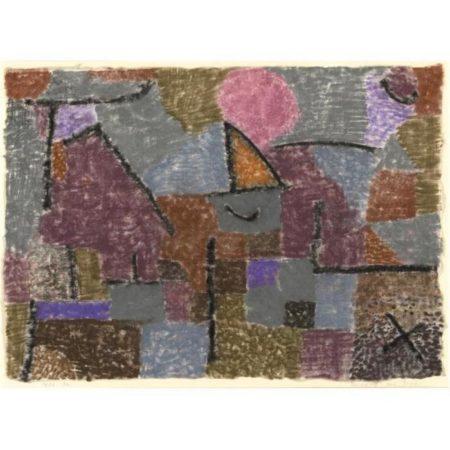 Paul Klee-Scenerie Bei Pasch (Scenery Near Pasch)-1936
