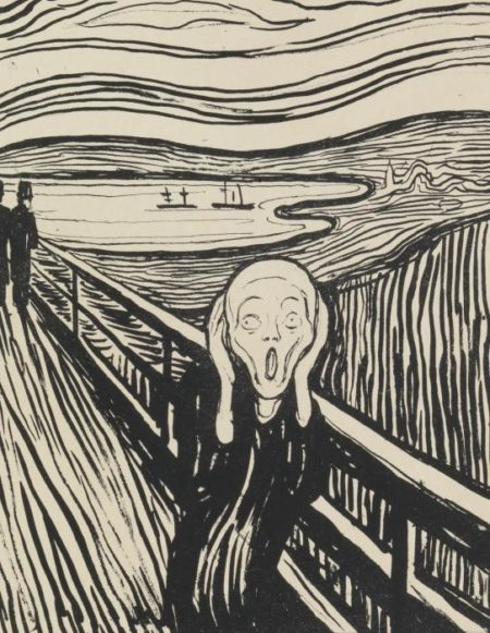 Edvard Munch-Geschrei / The Scream (Woll 38; Schiefler 32)-1895