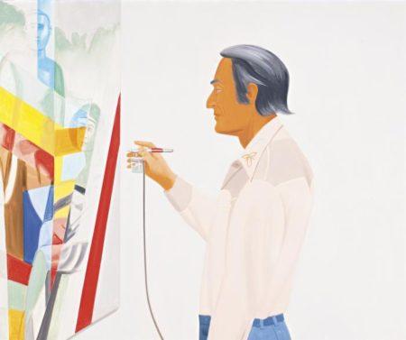 Alex Katz-Larry Rivers Painting-1978