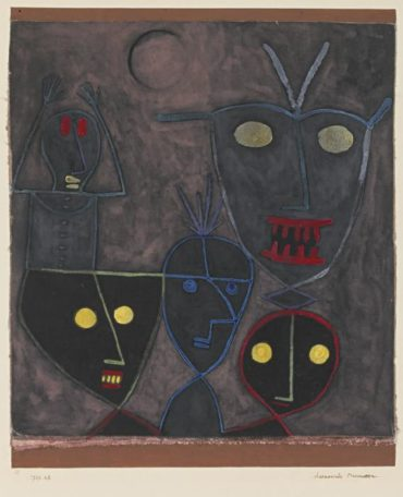 Paul Klee-Daemonische Marionetten (Demonic Puppets)-1929