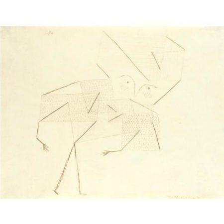 Paul Klee-Kind (Grosse Fassung) (Child (Large Version))-1930