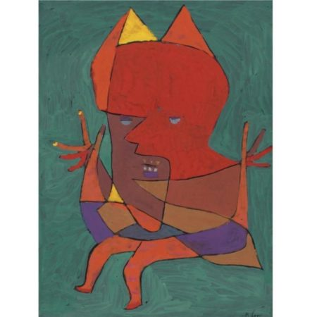 Paul Klee-Figurine: Kleiner Furtufel (Figurine: Small Fire Devil)-1927