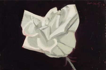 Alex Katz-White Rose-1966