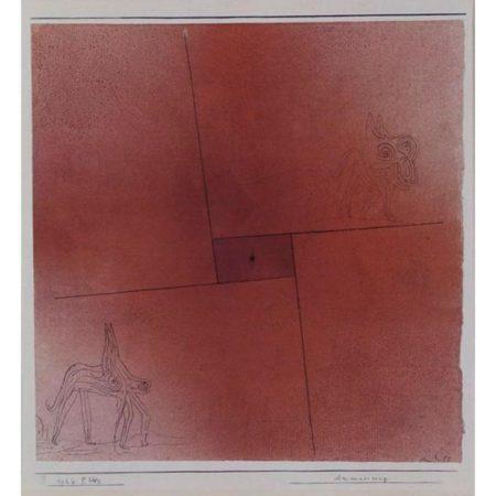 Paul Klee-Anmaßung (Arrogance)-1926