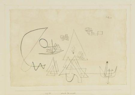 Paul Klee-Scheinbar Fest Verankert (Seemingly Firmly Anchored)-1927