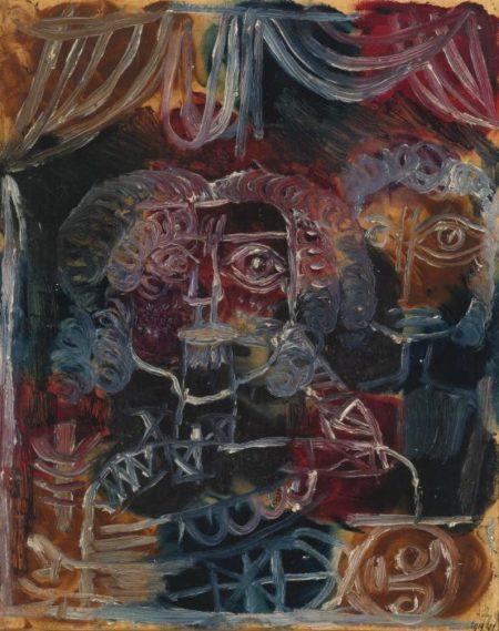 Paul Klee-Irgend Eine Grausamkeit (Any Kind Of Cruelty)-1919