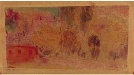 Paul Klee-Villen (Villas)-1912