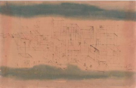 Paul Klee-Stadtteil Am Hafen (Quarter Near The Harbor)-1929