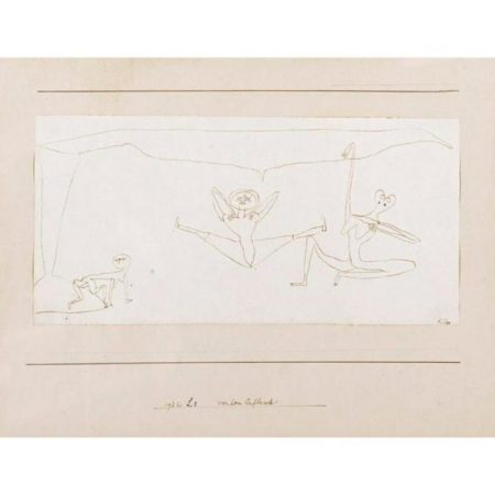 Paul Klee-Vor Dem Aufbrech (Before The Departure)-1932