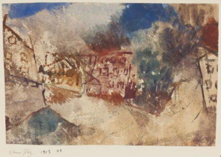 Paul Klee-Kleiner Platz (Eingang Der Keferstr, Mnchn)-1913