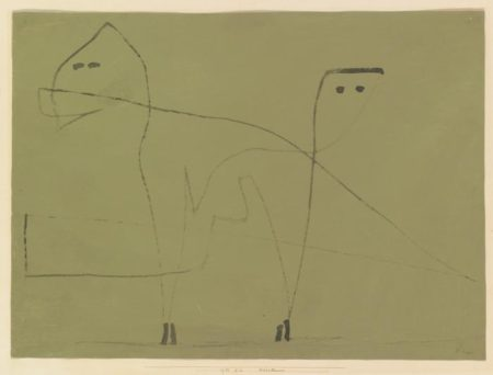 Paul Klee-Mesalliance-1933