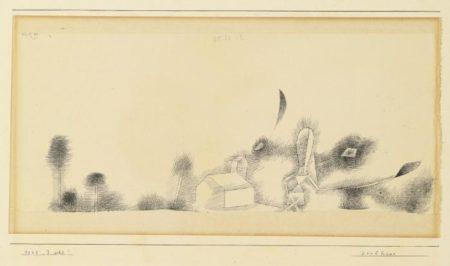 Paul Klee-Dorfhexe (Village Witch)-1925