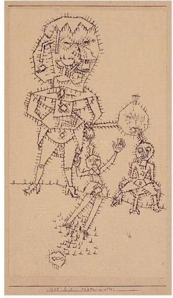 Paul Klee-Hexenmutter-1925