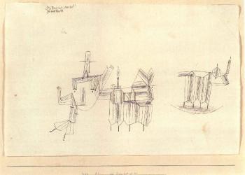 Paul Klee-Die Dinge Sind Nie Tot, Gar Nicht Etwa Tot! (Things Are Never Dead)-1928