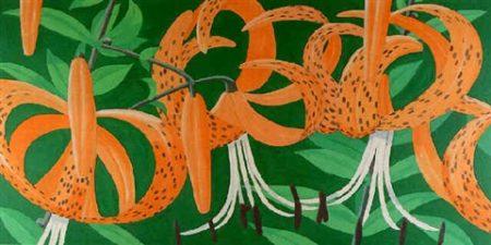 Alex Katz-Superb Lilies 2-1967
