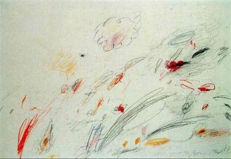 Cy Twombly-Tartaruga-1963
