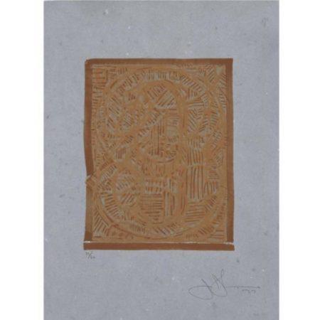 Jasper Johns-0 Through 9 (ULAE 188)-1978