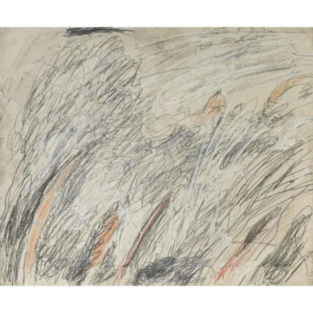 Cy Twombly-Untitled (Roma)-1961