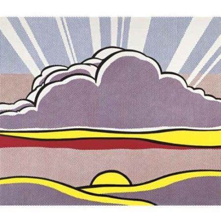 Roy Lichtenstein-Sinking Sun-1964