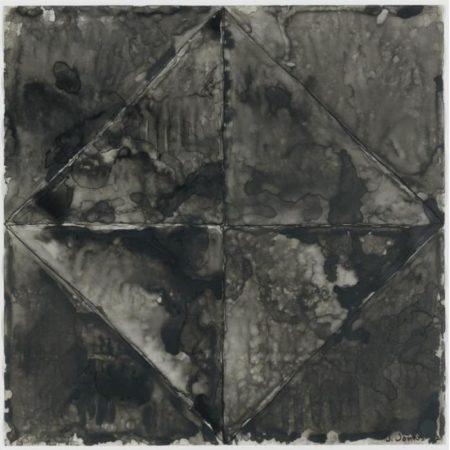Jasper Johns-Disappearance II-1962