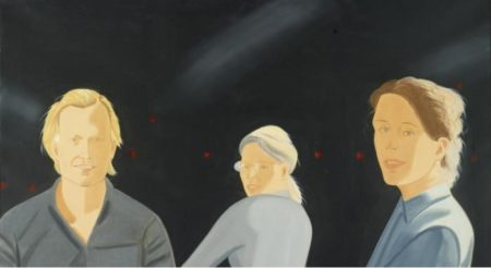 Alex Katz-The Wooster Group-2007