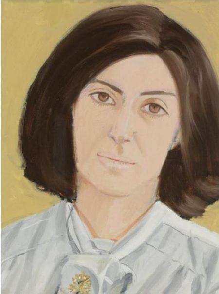 Alex Katz-Mrs. Kahn-1980