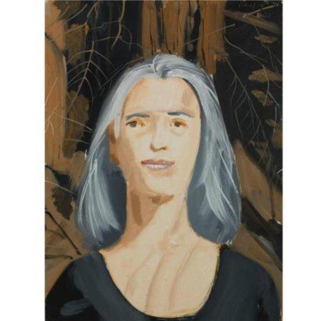 Alex Katz-Ada in the Woods-1998