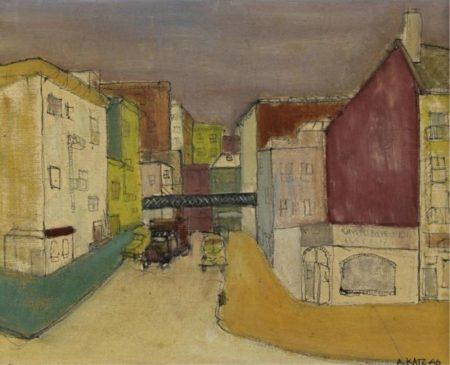 Alex Katz-Untitled-1946