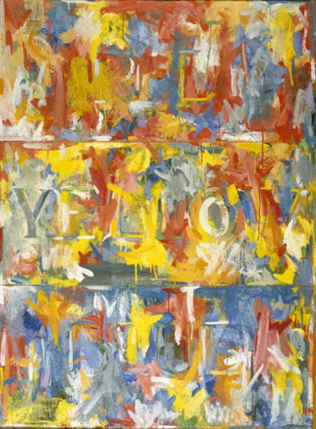 Jasper Johns-Out the Window-1959