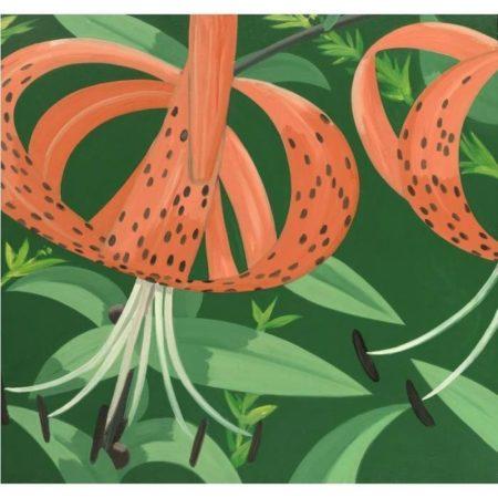 Alex Katz-Superb Lilies 1-1966