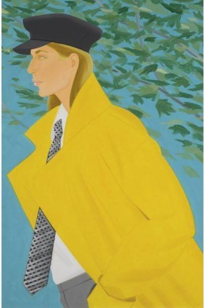 Alex Katz-Anna Schroeder-1983
