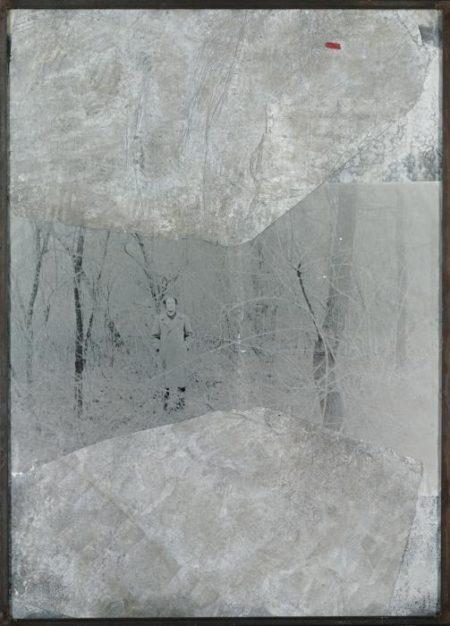 Anselm Kiefer-Mann in Wald-1988