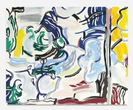 Roy Lichtenstein-Path Through the Forest-