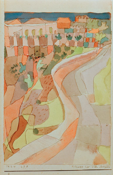 Paul Klee-Strasse Bei Villa Mazzaro-1924