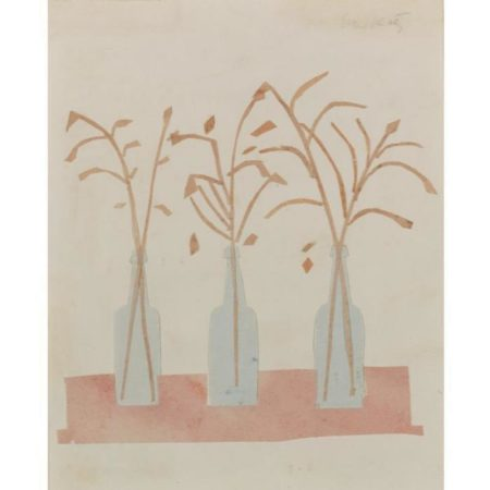 Alex Katz-Three Bottles-1957