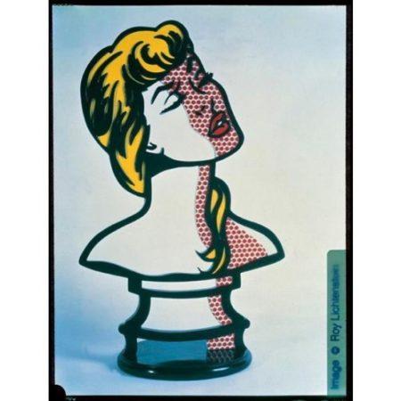 Roy Lichtenstein-Woman: Sunlight, Moonlight-1996
