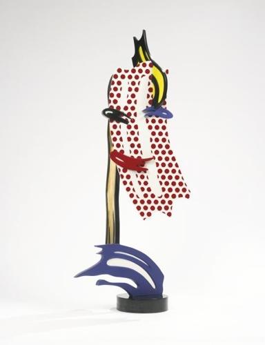 Roy Lichtenstein-Brushstroke Head I-1987